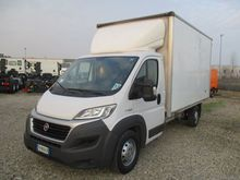 2015 FIAT DUCATO 160 closed box