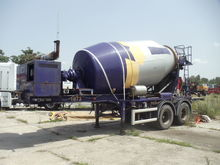 1996 FLOOR concrete mixer semi-