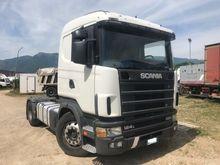 2000 SCANIA 124 LA 420 4X2 trac