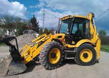 2008 JCB 4sh backhoe loader