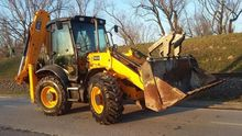 2010 JCB 3CX Super backhoe load