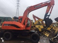 2010 DOOSAN DX140 W wheel excav