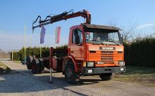 1990 SCANIA 93M250 chassis truc