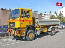 1989 MAN 19.332 FA 4x4 dump tru