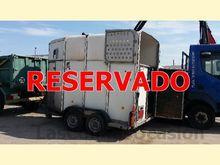 REMOLQUE horse trailer