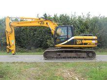 2001 JCB JS210L tracked excavat