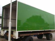 LAADBAK closed box trailer