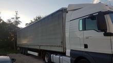 2008 KRONE tilt semi-trailer