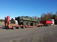 FGM 55 AF low loader trailer