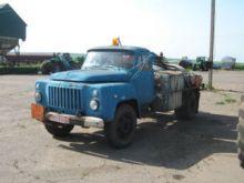 1994 GAZ 52 fuel truck