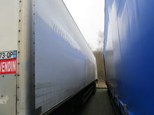 2005 FRUEHAUF closed box semi-t