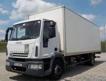 2008 IVECO closed box truck
