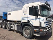 2003 SCANIA 114 chassis truck