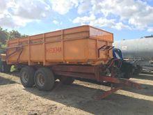 MIEDEMA HST 120 tractor trailer