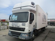 2006 DAF LF45 closed box truck