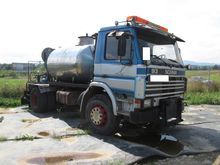 1989 SCANIA 93M asphalt distrib