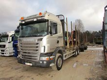 2011 SCANIA R440 timber truck +