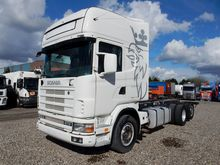 2004 SCANIA R124 chassis truck