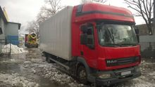 2010 DAF 45.106 closed box truc