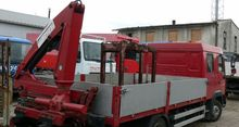 1996 MAN hds flatbed truck