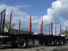 2001 PANAV timber semi-trailer