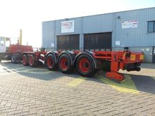 1997 D-TEC 5 axle 20/40 tipping