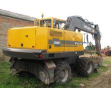 1998 VOLVO EW200 wheel excavato