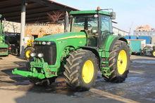 2002 JOHN DEERE 8520 wheel trac