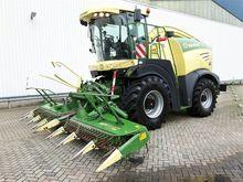 2015 KRONE BigX 580 forage harv