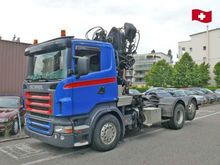 2005 SCANIA R420 chassis truck