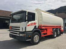 2001 SCANIA 114 6x2 tank truck