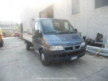 FIAT DUCATO flatbed truck