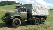 1989 ZIL 131 flatbed truck