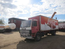 1993 SCANIA 93 M closed box tru