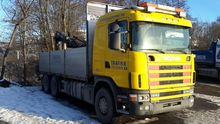 2003 SCANIA R 164 580 flatbed t
