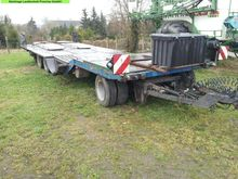 1992 Tiede,Werther low loader t