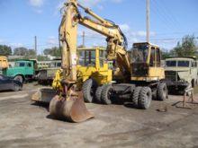 1991 ATLAS 1304 wheel excavator