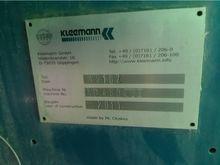 2011 KLEEMANN MS16Z crushing pl