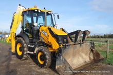 Used JCB backhoe loa