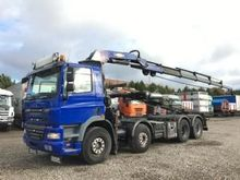 2008 DAF CF 85.460 cable system