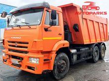 2014 KAMAZ 6520-73 dump truck