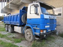 1992 SCANIA 113 6x2 tipper,full