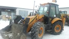 1995 JCB 3CX Super backhoe load