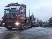 2011 SCANIA R560 timber truck