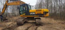 2010 JCB JS220LC tracked excava