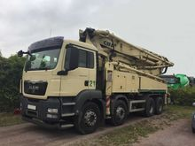 2011 MAN 41.440 concrete pump