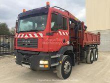2003 MAN TGA 26.310 dump truck