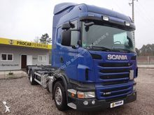 2011 SCANIA 420 LB chassis truc