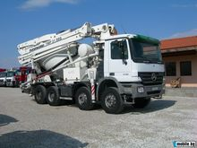 2006 MERCEDES-BENZ concrete mix