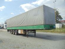 1993 KRONE tilt semi-trailer